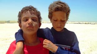 Best friends: Mohammed Malek and Mohammed Nour.