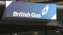 British Gas logo on Southampton building