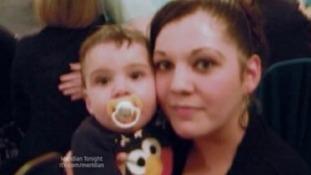 Melissa Crook & baby