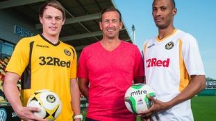 footballers in kit