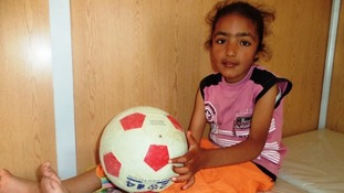 Reem dreams of playing football again