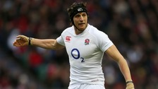 Northampton Saints forward Tom Wood who captains England against Argentina on Sunday