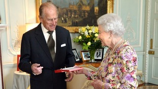 Duke presented with New Zealand's highest honour, the Order of New Zealand