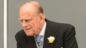 The Duke of Edinburgh was admitted to hospital in London on Thursday.