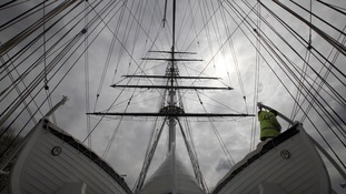 The restored Cutty Sark will be officially reopened by the Queen and Duke of Edinburgh on Wednesday