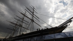 The top-deck of the Cutty Sark