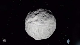 Image of an asteroid