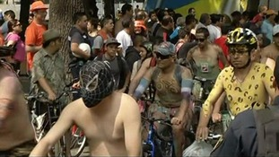 The World Naked Bike Ride movement began in 2004 and there has been a ride every year since