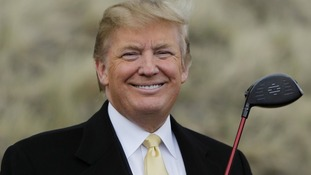Donald Trump's golf course is due to open later this year