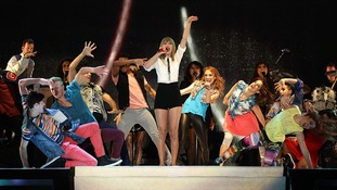 American singer Taylor Swift.