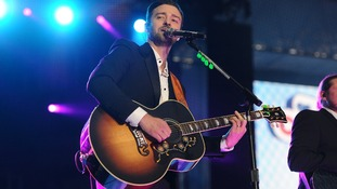 Justin Timberlake hosted the event and also performed.