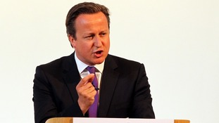Prime Minister David Cameron will make a speech in Essex later today.