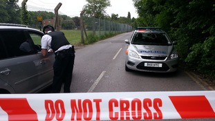 Police cordoned off an area around an Islamic school in Chislehurst following a suspected arson attack