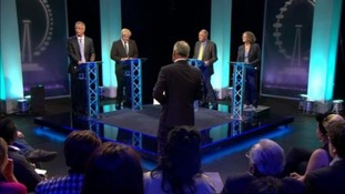 London Mayor candidates take part in debate