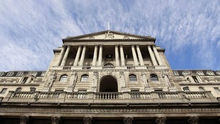 The bank of England.