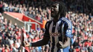 Lukaku scored 17 league goals for West Brom last season