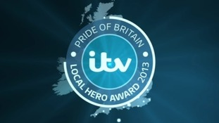 ITV Local Hero Award logo
