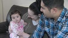 Since the stillbirth Sarah has had a baby girl whom they named Asha