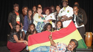 The Ghana Society - winners of the Luton International Parade