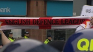 EDL support at last year's march