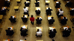Pupils will sit exams and as modular coursework is abolished in the new GCSEs.