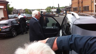 Neville Neville leaves court