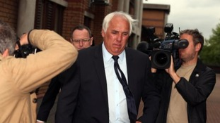 Neville Neville leaves Bury Magistrates Court