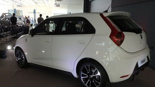 New MG3 car.