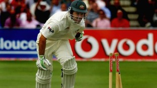 'Ponting was fined 75% of his match fee for his outburst following his dismissal'