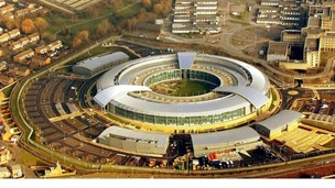 GCHQ headquarters in Cheltenham, Gloucestershire