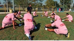 Voukefalas chose a brothel to sponsor their kit for this season