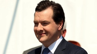 The Chancellor George Osborne.