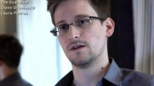Edward Snowden was the whistleblower behind leaks about secret US government surveillance programmes