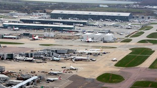 Heathrow Airport in west London