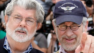 George Lucas and Steven Spielberg were speaking at the new media centre at the University of Southern California