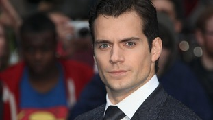 Henry Cavill attends the UK Premiere of Man of Steel