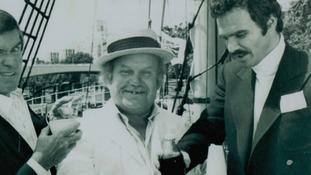 Tubby Issac with Burt Reynolds