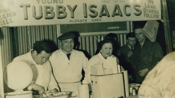 Tubby Issacs in the 1940s