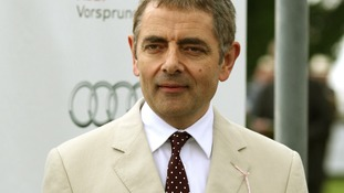 Actor Rowan Atkinson, star of last year's Olympic Opening Ceremony.