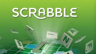 Scrabble app on Facebook
