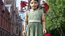 Little girl giant