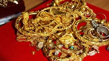 The gold jewellery