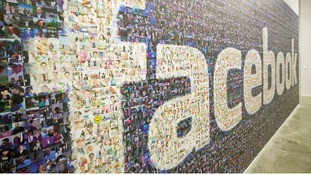 A file photo of a wall in Facebook's data centre located in Lulea, Sweden.