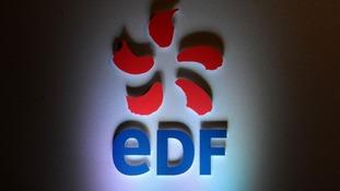 An EDF Energy symbol.