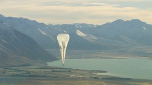 Google launch 'Project Loon'.