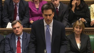 Ed Miliband at PMQ's