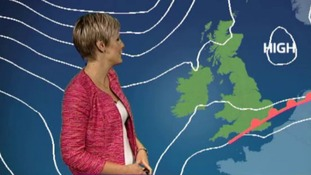 Helen has today's weather