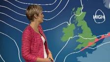 Helen has today's weather