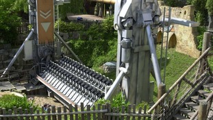 The Rameses Revenge Chessington World of Adventures theme park in South West London