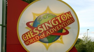 Chessington World of Adventures sign